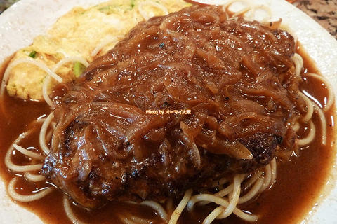 大きなハンバーグがうれしいボリューム満点ランチ「炭火焼ステーキ あおき」大阪メトロあびこ駅