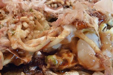 ランチでお得に味わう人気店の小海老玉モダン焼きセット「千房 あびこ店」大阪メトロあびこ駅