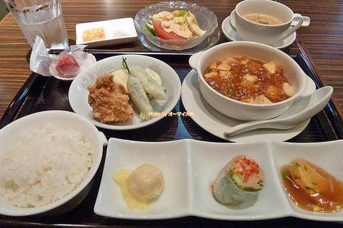 たくさんの品数が並ぶ超お得な中華ランチ「迎日楽(えいにちらく)」大阪メトロあびこ駅