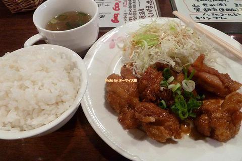 唐揚げ定食ランチも唐揚げ弁当もワンコインの500円「いけまっせ」大阪メトロあびこ駅