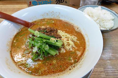 白ごま担々麺が絶品!一度で二度おいしい専門店のランチセット「まるたん」大阪メトロあびこ駅