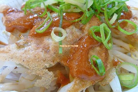 ジューシーな餃子とシャキシャキのモヤシがうまいワンコイン餃子丼「龍華山(りゅうかざん)あびこ店」大阪メトロあびこ駅