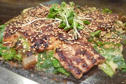 ネギ焼きも最高!お好み焼きの名店で味わう絶品ねぎ焼「美津の(みづの)」大阪メトロなんば駅