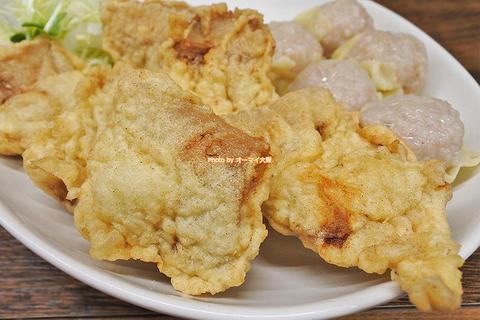 名物のシュウマイとジューシーな豚天の絶品定食「一芳亭(いっぽうてい)」大阪メトロなんば駅