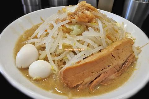 ラーメンフクロウ再び!味もボリュームも申し分ない二郎系ラーメン「福はら」大阪メトロ小路駅
