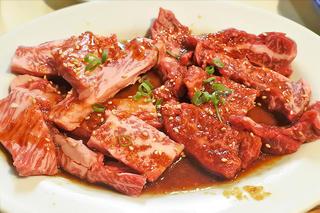 バランスが秀逸なハラミとカルビに大満足の焼肉ディナー「さつま」JR北新地駅