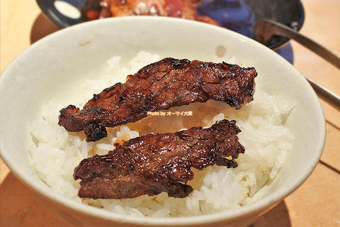 大好物のハラミは焼肉ディナーの定番「万両(まんりょう)天神橋店」大阪メトロ南森町駅