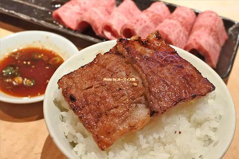 絶対に食べたい特選カルビ(特選上バラ)の焼肉ディナー「万両(まんりょう)天神橋店」大阪メトロ南森町駅