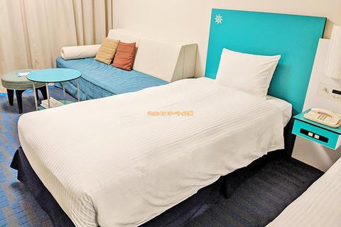 USJオフィシャルホテル宿泊レビュー「ホテル近鉄ユニバーサルシティ」カジュアルツインのスタジオビュールーム