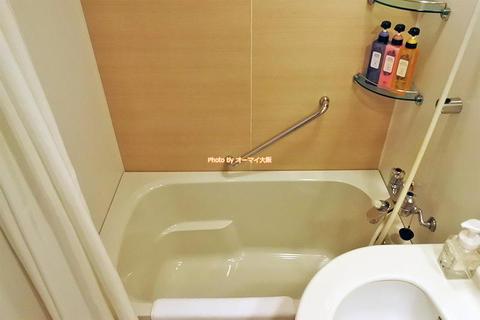 デラックスシングルの風呂とアメニティは?「ホテルグランヴィア大阪」USJアソシエイトホテル宿泊レビュー