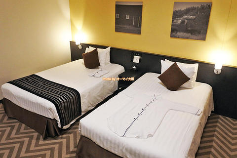 USJオフィシャルホテル宿泊レビュー「パークフロントホテル」シティビュールーム朝食付きツインベッド