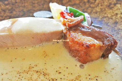 能登豚のロース肉は必食!絶品イタリアンランチ6品コース「リーガロイヤルホテル ベラコスタ」京阪中之島駅