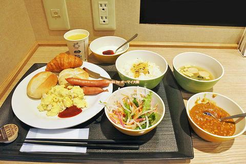 復活した食べ放題の朝食バイキングで元気をチャージ「スーパーホテルなんば日本橋」ビジネスホテル朝食レビュー